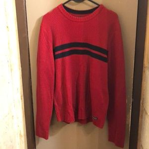Vintage Abercrombie red sweater